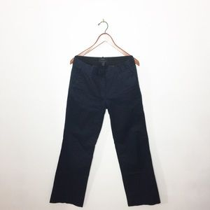 "J. Crew ""Cafe Trousers"" Dark Navy Pants"